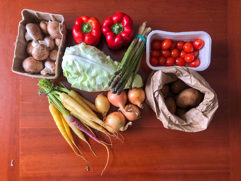 First veg box!