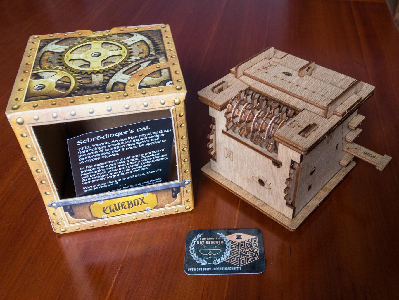 Schrödinger's cat cluebox
