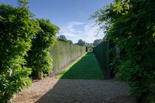 Walled garden path